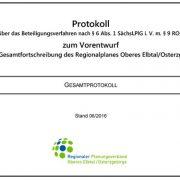 Deckblatt Protokoll