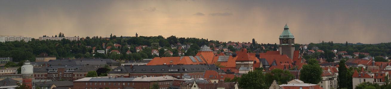 Campus der TU Dresden