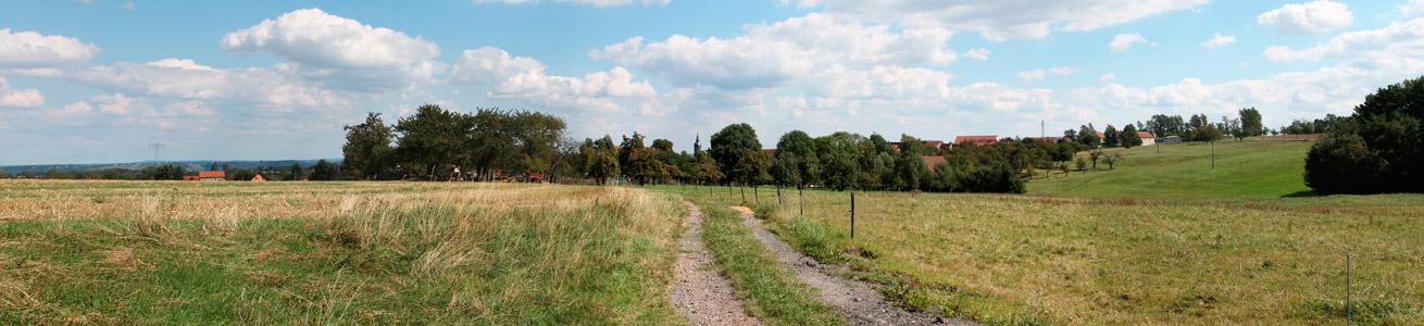 Landidyll in Unkersdorf